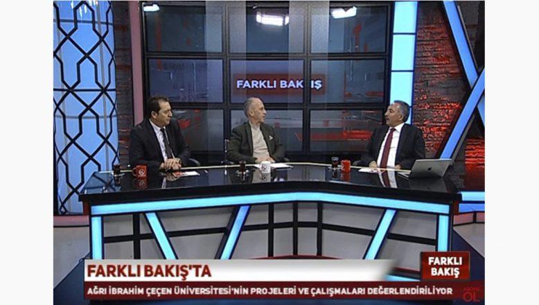 AİÇÜ Rektörü Karabulut Kardelen TV'de Üniversite Hakkında Bilgiler Verdi