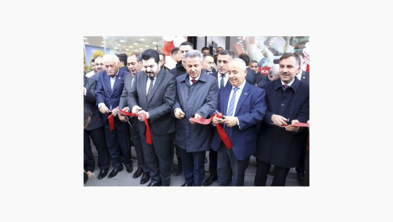 Ağrı'da Türk Kızılay'ı Kan Alma Birimi Törenle Hizmete Girdi