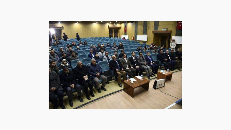 """Ağrı,""""İŞKUR"""" Doğubayazıt'ta 'istihdam destekleri' toplantısı düzenledi"""