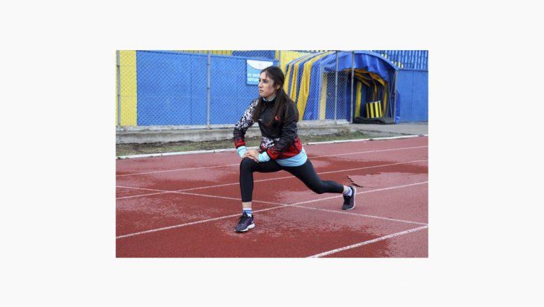 Ağrılı Milli Atlet:Türk Bayrağını Dalgalandırmak İstiyorum
