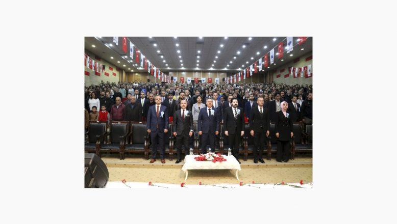 Ağrı'da 24 Kasım Öğretmenler Günü Çeşitli Etkinliklerle Kutlandı