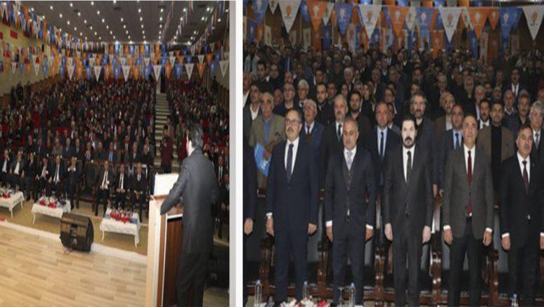 AK Parti Ağrı İl Başkanlığı Danışma Meclisi Toplantısı yapıldı