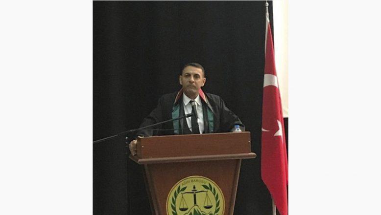 Ağrı Baro Başkanı Aydın: TBB'ye Yapılan Olağanüstü Kongre Çağrısı Enerjimizin Boşa Harcanmasıdır
