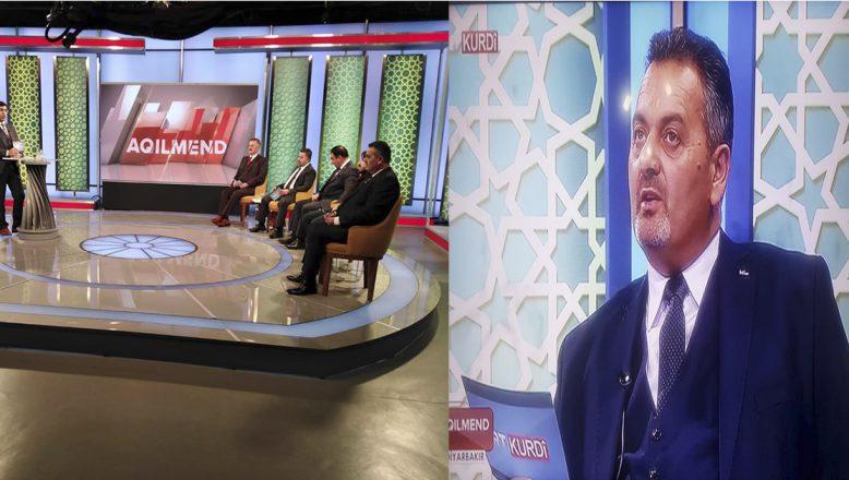 Ortadoğu Gazeteciler Cemiyeti Başkanı Nihat Aydın Trt Kürdi 'de Suriye Meselesini Yorumladı
