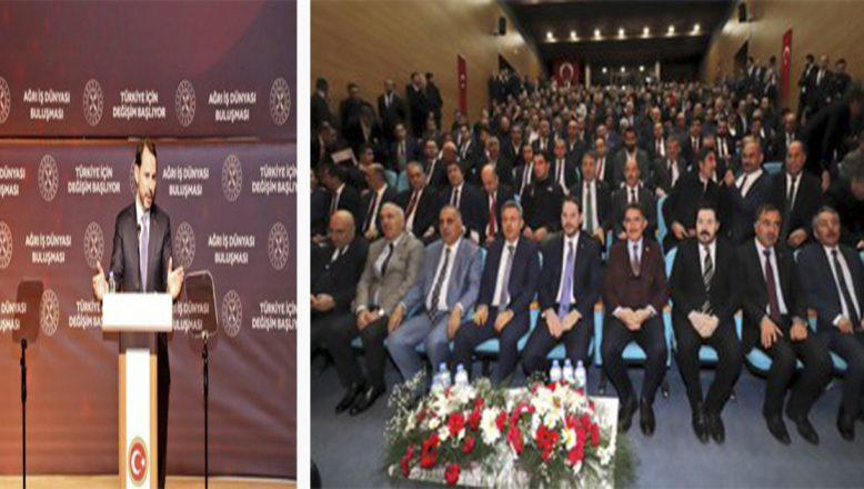 """Bakan Albayrak:Milletin desteği bizimle olduğu sürece bu ülkenin ulaşamayacağı hiçbir hedef yoktur."""""""