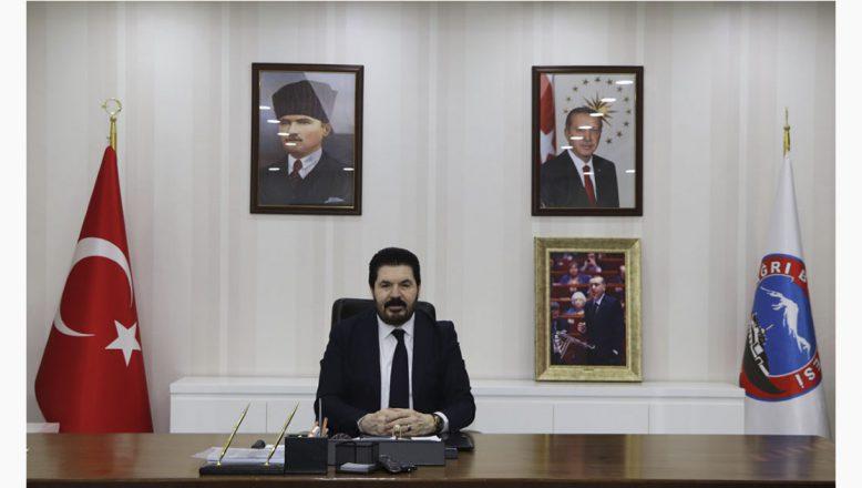 Ağrı Belediye Başkanı Savcı Sayan'dan Yeni Yıl Mesajı