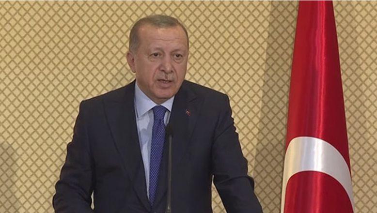 Cumhurbaşkanı Erdoğan'dan Şehit Ailesi Elber'e Başsağlığı