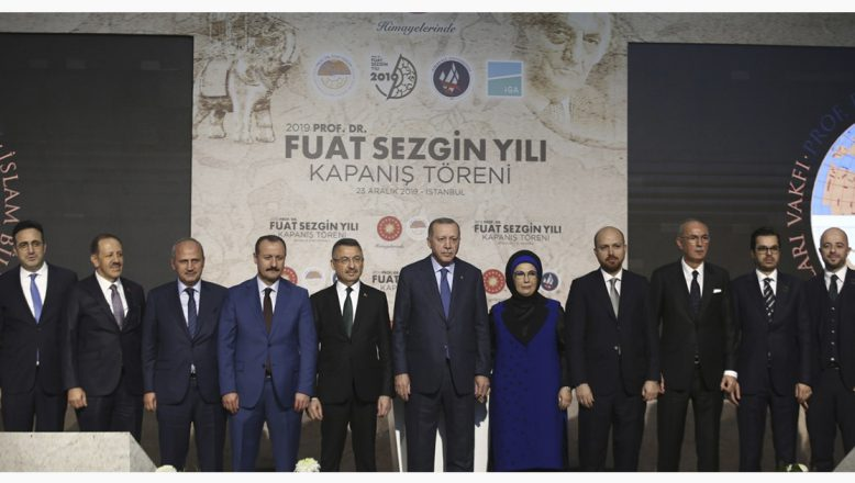 """AİÇÜ Rektörü Prof. Dr. KARABULUT, """"2019 Prof. Dr. Fuat SEZGİN Yılı"""" Kapanış Törenine Katıldı"""