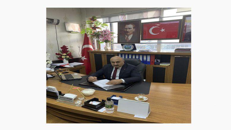 Ak Parti Tutak İlçe Başkanı Mehmet Sayan'dan Yeni Yıl Kutlama Mesajı