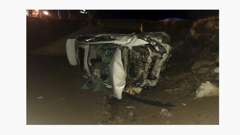 Ağrı'da Trafik Kazası 1 Ölü 4 Yaralı