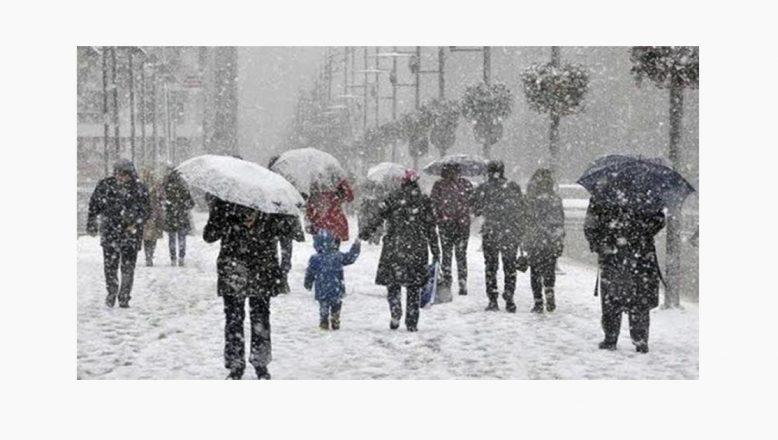 Meteorolojiden 6 İl İçin Kar Yağışı ve Soğuk Hava Uyarısı