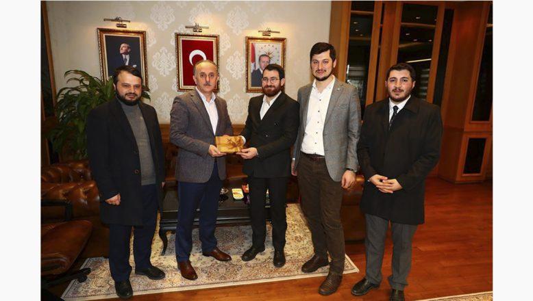 Türkiye Gençlik Vakfı'ndan (TÜGVA) Bağcılar Belediyesine Ziyaret