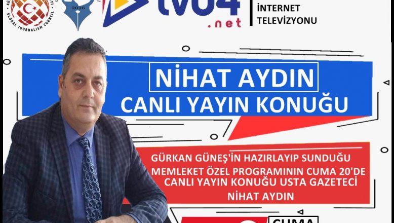 OGC Genel Başkanı Aydın,TV04 Memleket Özel Programı Canlı Yayın Konuğu
