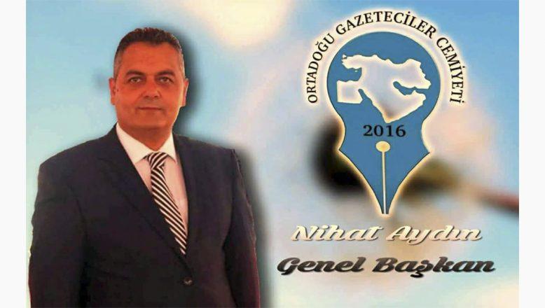 """OGC Genel Başkanı Aydın'dan, """"10 Ocak Çalışan Gazeteciler Günü"""" Mesajı"""