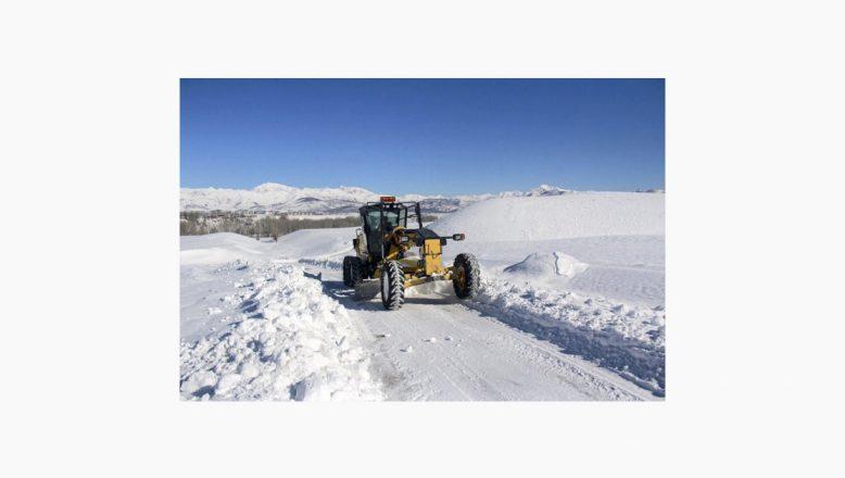 Ağrı'da Dondurucu Soğuklar Yaşamı Olumsuz Etkiliyor