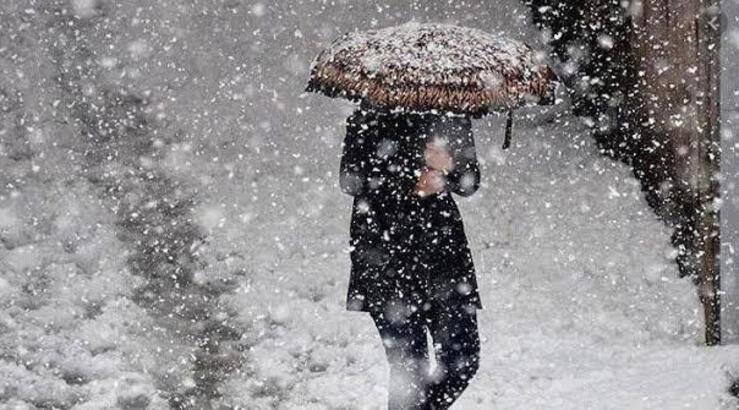 Ağrı ve çevre iller için kar yağışı uyarısı