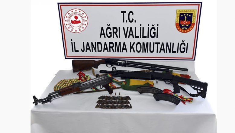 Ağrı'da Silah Kaçakçılığı ve Terör Örgütü PKK/KCK Propagandası Yapan Bir Kişi Yakalandı