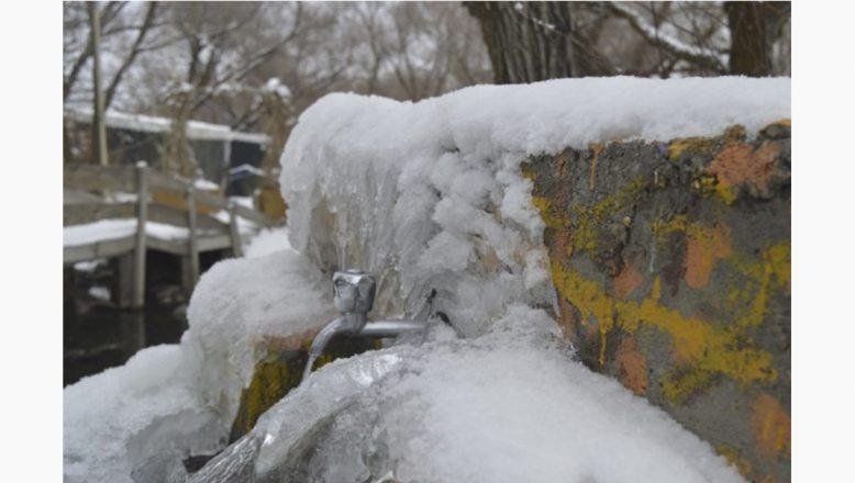 Ağrı'da Dondurucu Soğuklar Hayatı Durdurdu
