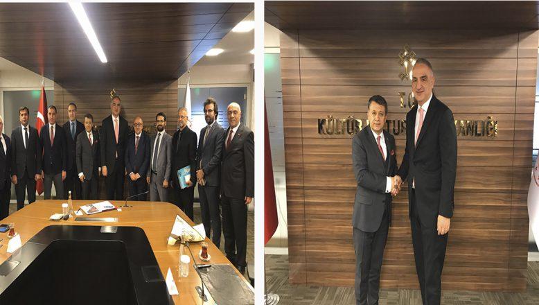 Turizm Bakanı Ersoy'a KGK ziyareti