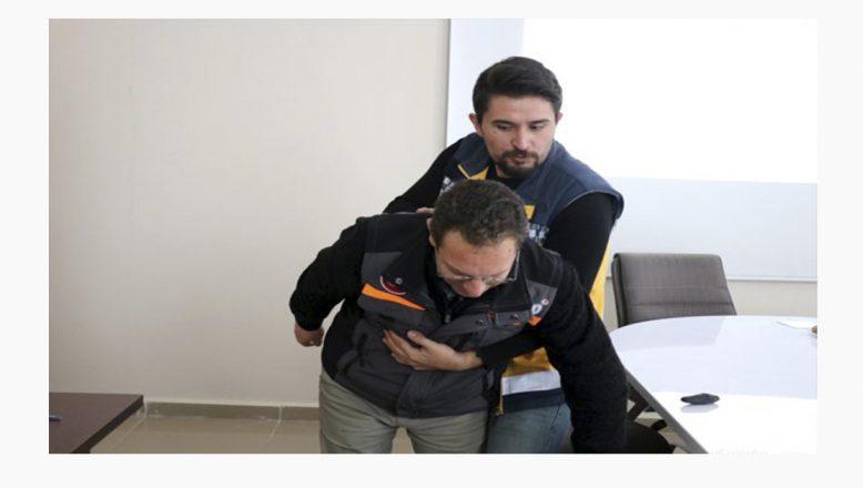 Ağrı'da Basın Mensupları AFAD'tan İlk Yardım Eğitimi Aldı