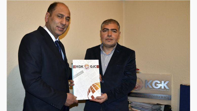 Genç Parti Ardahan İl Başkanı Çoban'dan, KGK Ardahan İl Temsilciliğine Ziyaret