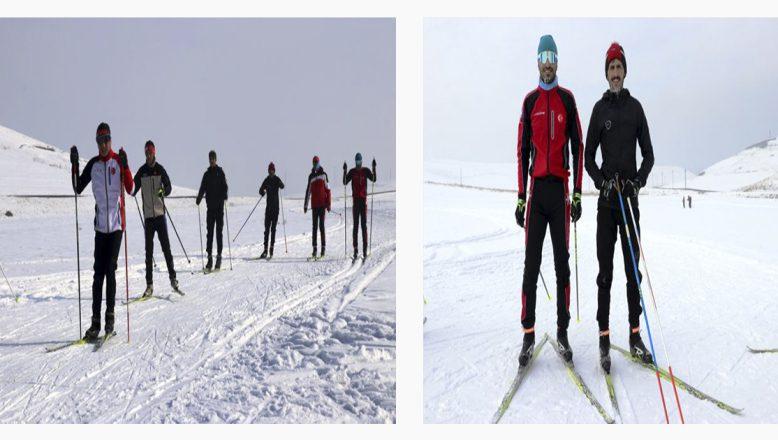 Dondurucu Soğuklarda Olimpiyat  Antrenmanları