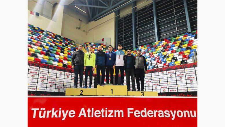 Ağrı'lı Atlet, Atletizmde Türkiye İkincisi Oldu!