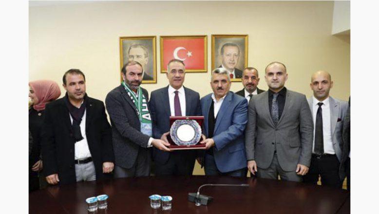 Sultangazi Belediyesi İstanbul Ağrı Dernekler Federasyonu'nu Ağırladı