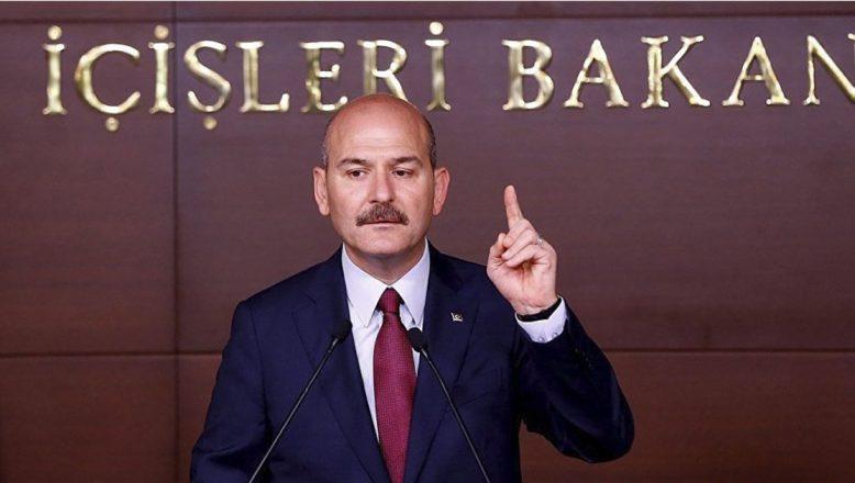 """Bakan Soylu: """"Gençlerimizin reddettiği her bir hap, PKK'ya vurulmuş bir darbedir"""""""