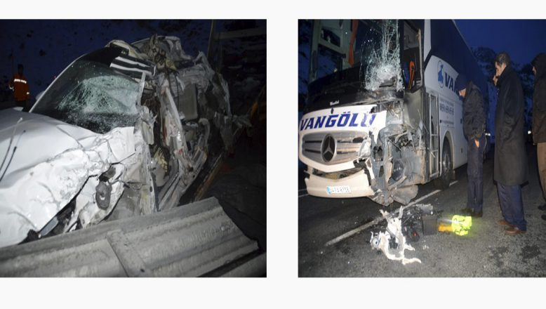 Ağrı'da Trafik Kazası 1 Kişi Öldü, 1 Kişi Yaralı
