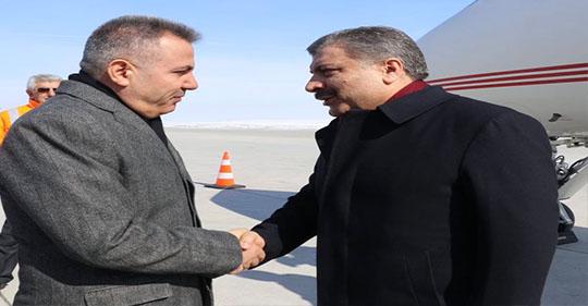 Sağlık Bakanı Dr.Fahrettin Koca Ağrı'da