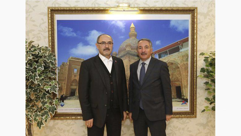 AİÇÜ Rektörü Karabulut, Adnan DEMİR'i misafir etti