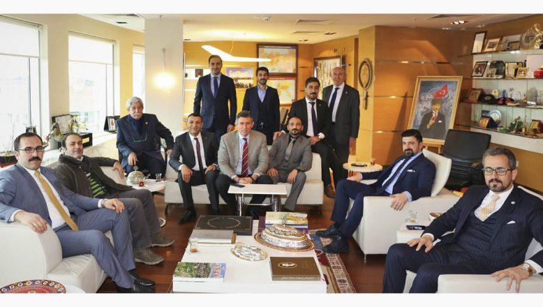 Ağrı Barosundan TBB Başkanı Feyzioğlu'na Ziyaret