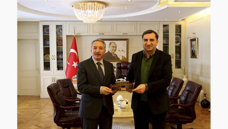 AİÇÜ Rektörü Prof. Dr. A. KARABULUT, ERTAŞ'ı Misafir Etti