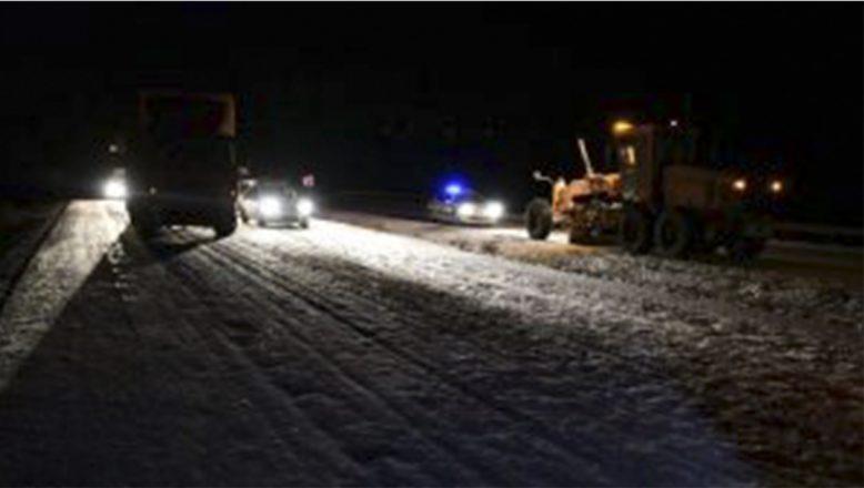 Kaza nedeniyle kapanan Ağrı-İran kara yolu ulaşıma açıldı