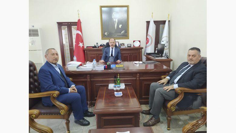 OGC, KGK Ağrı İl Temsilciliği,TGC Başkanlarından, Başsavcı TURGUT'A Ziyaret