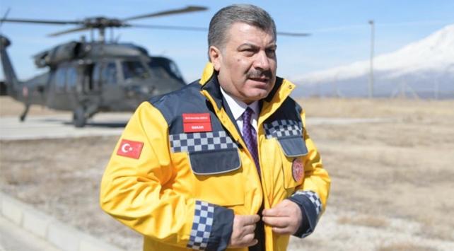 Sağlık Bakanı Koca Gürbulak'ta, Koronavirüs (Covid-19) Salgını Nedeniyle Alınan Tedbirlerle İlgili Açıklamalarda Bulundu