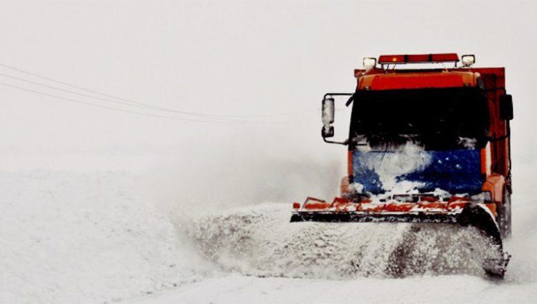 Ağrı'da kar ve tipi nedeniyle 67 köye ulaşılamıyor