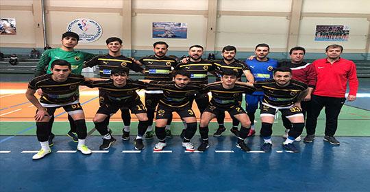 Ağrı Vefaspor Futsalda Elendi