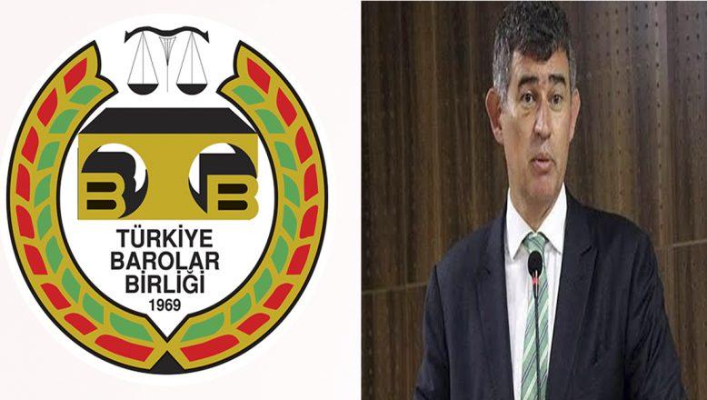 TBB Başkanı Feyzioğlu'nun KORONAVİRÜS  Salgını Nedeniyle Çözüm Amaçlı Destek Talebi