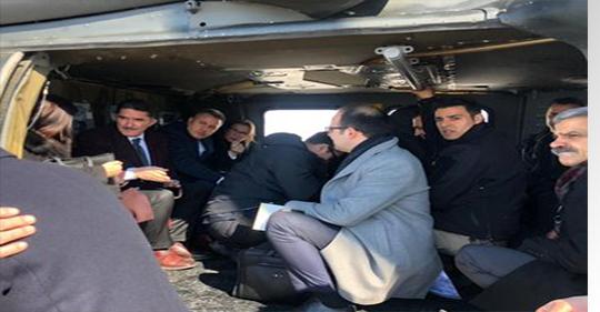 Ticaret Bakanı Pekcan, Gürbulak'ta Zırhlı Araca Yapılan Roketli Saldırıyla İlgili İncelemelerde Bulunmak Üzre Ağrı'da