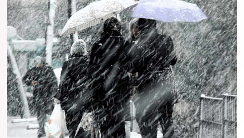 Doğu'daki 4 ilde karla karışık yağmur ve kar etkili olacak