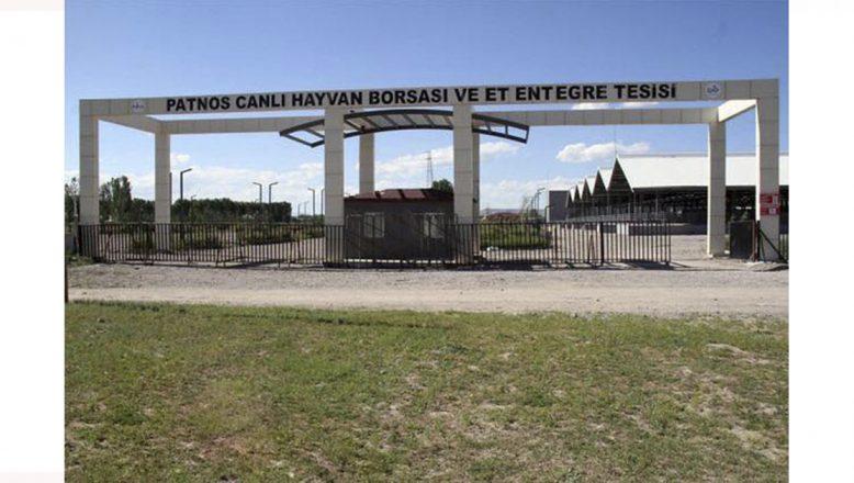 Ağrı-Patnos Canlı Hayvan Pazarı Tedbir Amaçlı Kapatıldı