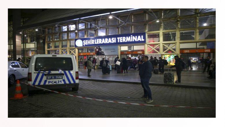 Antalya'da otogardan otobüs çıkışlarına izin verilmedi