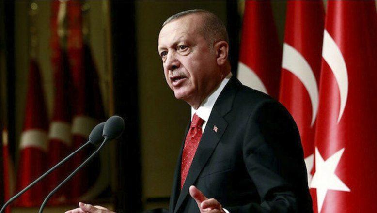 """Cumhurbaşkanı Erdoğan""""Hiçbir virüs Türkiye'den büyük değildir"""""""