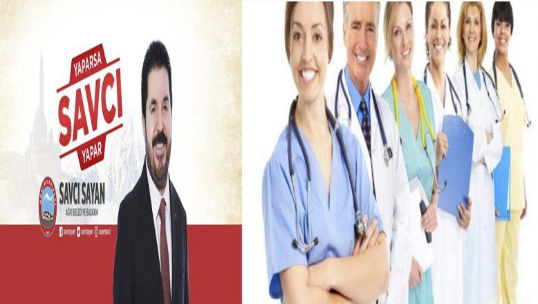 Ağrı'da sağlık çalışanlarına şehir içi ulaşım ücretsiz