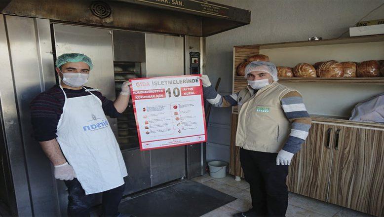 Ağrı İl Tarım Müdürlüğünden Ekmek Ve Ekmek Ürünlerini Üretenlere Koronavirüs Denetimleri