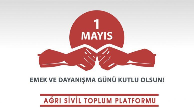 ASTOP, ÖNCE SAĞLIKÇILAR DİYEREK 1 MAYIS'I KUTLADI