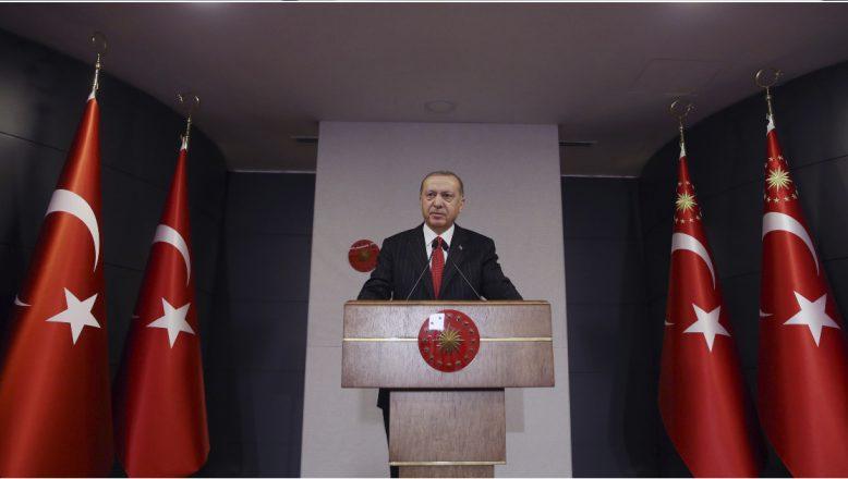 Cumhurbaşkanı Erdoğan: Atatürk Havalimanı ve Sancaktepe'de 2 hastaneyi 45 günde bitireceğiz