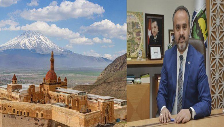 Ağrı'ya, Bursa Kardeş Belediye Başkanı Aktaş'tan Kutlama Mesajı